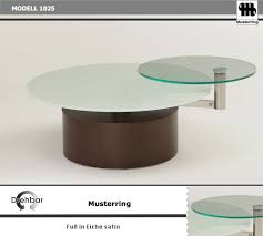 Esszimmer Drehstuhl Musterring Musterring Couchtisch 1025 Egpws In Eiche Satin Mit Glasplatte