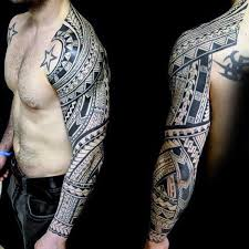 collection of 25 half sleeve glowing tribal tattoos for guys