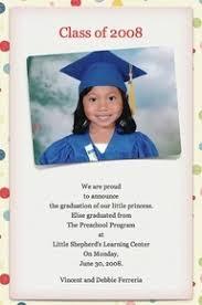 kindergarten graduation announcements 80 best preschool graduation images on graduation