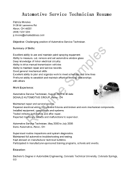 brilliant ideas of 20 auto mechanic resume examples for