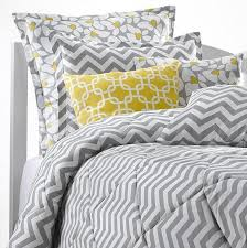 Chevron Bedding Queen Gray Chevron Bedding Set Full Double Liz And Roo