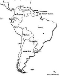 map of south america south american countries printable maps