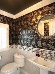 bathroom wallpaper border ideas wallpaper border bathroom 31women me