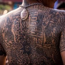 master tattoo indonesia sak yant thailand s bizarre tattoo traditions www