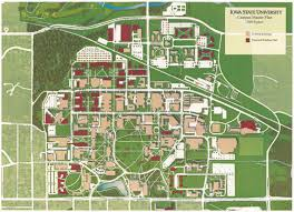 K State Campus Map by Isu Master Plan 2000 Supplimental Progess Update