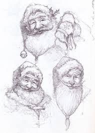 santa sketches none my website