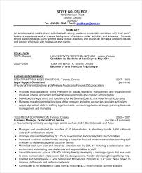 Sample Chronological Resume Template by 31 Resume Format Free Word Pdf Documents Download Free