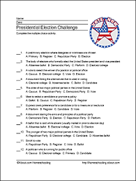 presidential election wordsearch crossword and more