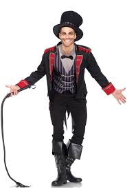 Lion Tamer Halloween Costume Sinister Ringmaster Halloween Costume Lion Tamer Men U0027s Costume