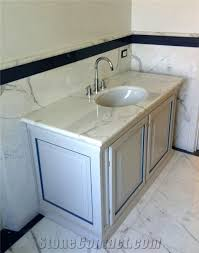 Statuario Carrara Marble Bathroom Vanity Top Statuario Carrara - Carrera marble bathroom vanity