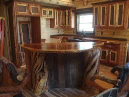 rustic cabin kitchen rustic cabin ideas small log attractive home interior