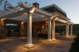 Patio Column Lights Fx Luminaire Landscape And Architectural Lighting Fx Luminaire