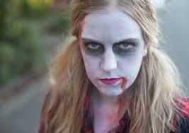 zombie makeup women zombie the walking dead halloween makeup