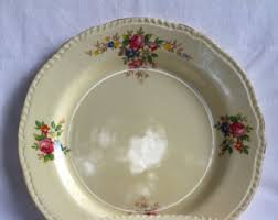 Shabby Chic Dinner Set by Mismatched Plates Etsy
