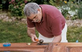 How To Stain Mohagany Doors Youtube by How To Refinish A Door This Old House