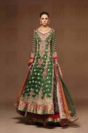 wedding dress in pakistan green bridal dresses collection pictures for wedding