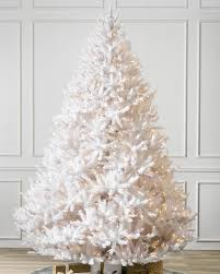 buy pikes peak white artificial christmas trees online balsam hill
