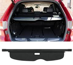 jeep grand trunk cover retractable rear trunk cargo cover shield for jeep grand