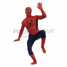 print spiderman superhero costume