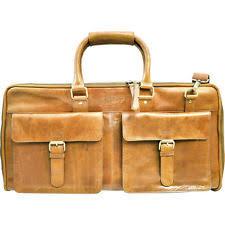 Rugged Duffel Bags Rawlings Baseball Rugged Weekender Leather Duffle Bag V620 Ebay