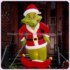 Outside Inflatable Christmas Decorations by Online Get Cheap Grinch Outdoor Inflatable Aliexpress Com