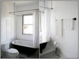 Ceiling Curtain Rods Ideas Great Hang Curtain Rod From Drop Ceiling Curtains Home Design