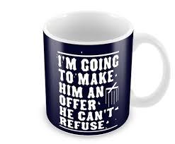 mug design for him promotional coffee cup make him offer godfather mug postergully
