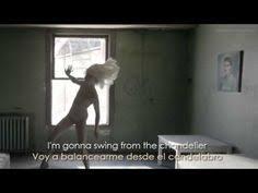 Sia Chandelier Text Sia Chandelier Lyrics On Screen Hq Official Audio From 1000