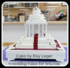 Square Wedding Cakes Square Wedding Cake Surprise