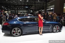 porsche panamera wheelbase porsche panamera facelift makes auto shanghai debut