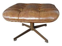 ottoman with 4 stools eames style danish modern brown ottoman brown ottoman foot stools