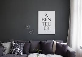 Schlafzimmer Ideen Wandgestaltung Grau Wohnzimmer Mit Grauer Wand Gemtlich On Moderne Deko Idee In