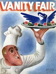 a vanity fair cover of roosevelt at thanksgiving by miguel covarrubias