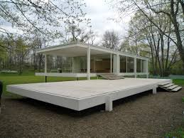 Farnsworth House Gallery Of How An Artist Constructed A Wooden Replica Of Mies