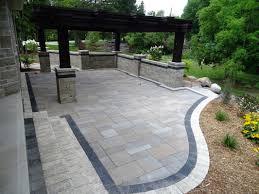 patios u0026 walkways backyard boyslandscape construction