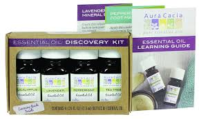 amazon com aura cacia essential oil discovery kit beauty