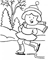 winter coloring pages 3 coloring page
