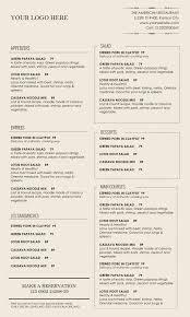 dining menu template dining menu template set vector ideas of food menu templates