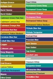apple barrel brand acrylic paint color chart crafting how to u0027s