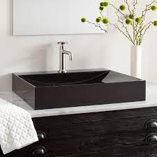 black countertop with black sink black granite sink signature hardware