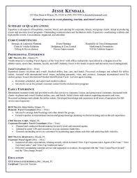 Resume For Airline Job Travel Agency Manager Cover Letter