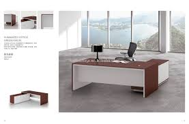 Office Executive Desk Furniture by 2017 Popular Modern Design Veneer Finished Office Executive Desk