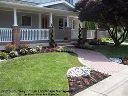 In Front Yard - front yard landscape designs with before and after pictures