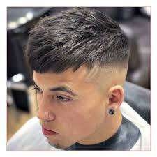 heart shaped face hairstyles men as well as messy brush up with