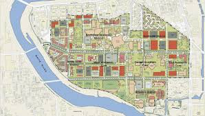 Phoenix College Campus Map by Iu Campus Map Iub Campus Map Indiana Usa