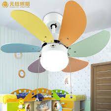Ceiling Fan Kids Room by Aliexpress Com Buy Colourful Romantic Cute Kids U0027 Room Led 65w
