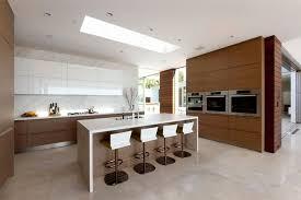 cuisine avec ilot central arrondi design et conception cuisine 80 cuisines élégantes cuisine avec