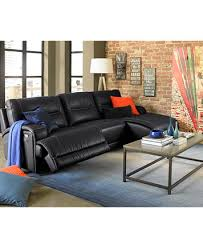 Motion Leather Sofa Caruso Leather Power Motion Sectional Sofa Living Room Furniture