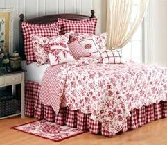 French Toile Bedding French Country Quilts French Country Bedding French Country Toile