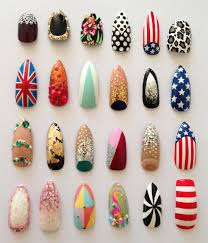 latest nail polish designs for women in winter 2017